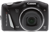 Canon PowerShot SX150 IS digital camera. Copyright © 2012, The Imaging Resource. All rights reserved.