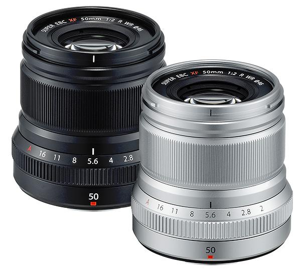 Fujinon  XF 50mm f/2 R WR - www.imaging-resource.com