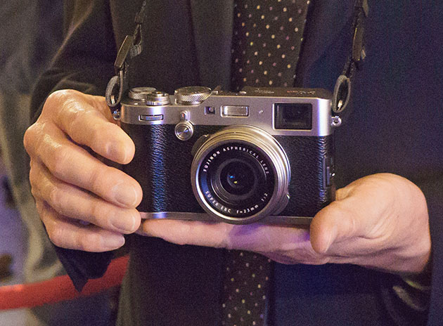 Fujifilm GFX launch: Hands-on with the GFX, X-T20, and X100F