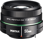 The made-for-digital smc PENTAX-DA 50mm f/1.8 lens offers an affordable, lightweight alternative to the company's existing full-frame 50mm lenses. Photo provided by Pentax Ricoh Imaging Americas Corp.