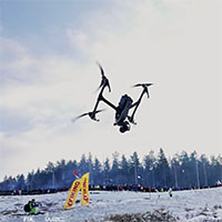 DJI shows off the cold weather durability of the Inspire 2