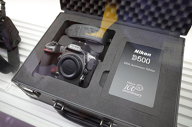 Nikon show off special edition gunmetal gray D5, D500
