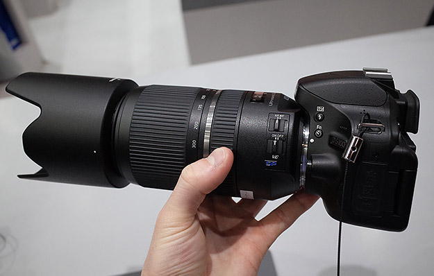 tamron cp 2017 hands on with three new zooms including the japanese only 70 300. Black Bedroom Furniture Sets. Home Design Ideas
