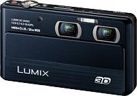 Panasonic's Lumix DMC-3D1 digital camera. Photo provided by Panasonic Consumer Electronics Co.