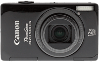 Canon PowerShot ELPH 510 HS digital camera. Copyright © 2012, The Imaging Resource. All rights reserved.