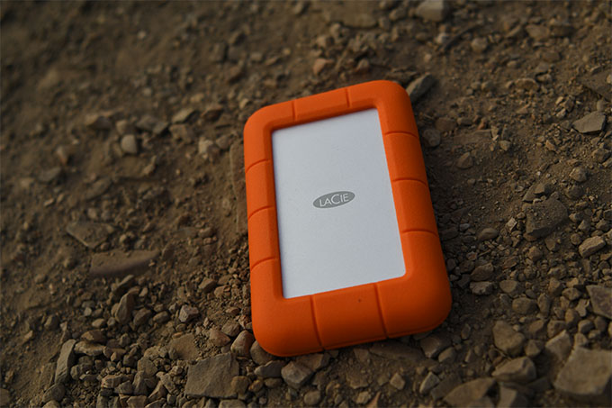 The Lacie Rugged Thunderbolt Usb C Is Heavy On