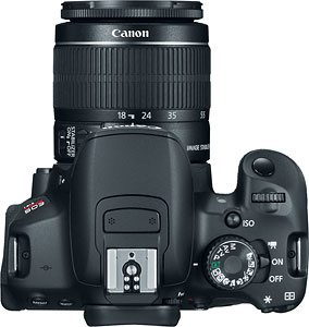 Canon's EOS Rebel T4i digital SLR. Photo provided by Canon. Click for a bigger picture!