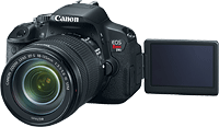 Canon's EOS Rebel T4i digital SLR. Photo provided by Canon. Click for our Canon T4i preview!