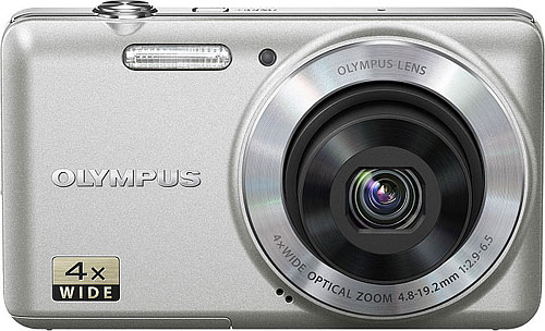 Inexpensive cameras like the VG-150 may be good for boosting sales numbers, but with razor-thin margins and almost no differentiation, Olympus will be making fewer of them. Photo provided by Olympus. Click for a bigger picture!