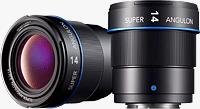 The Schneider-Kreuznach Super-Angulon 2/14mm lens is currently in development for the popular Micro Four Thirds mount. Rendering provided by Jos. Schneider Optische Werke GmbH.