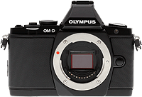 Olympus' OM-D E-M5 digital camera. Photo copyright © 2012, Imaging Resource. All rights reserved.