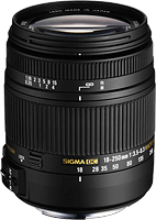 Sigma's 18-250mm F3.5-6.3 DC Macro OS HSM lens. Photo provided by Sigma.