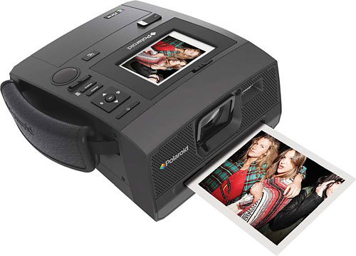 Polaroid's Z340 digital camera. Photo provided by PLR IP Holdings LLC. Click for a bigger picture!