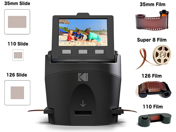 Kodak releases new Scanza film digitizer, an all-in-one solution for