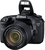 Canon's EOS 7D digital SLR. Photo provided by Canon. Click to read our Canon EOS 7D review!