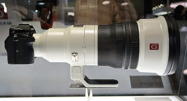The Best from Japan: Sony's 400mm f/2 8