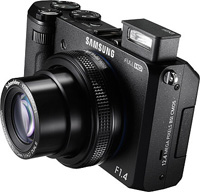 Samsung's EX2F digital camera. Click for our Samsung EX2F preview!