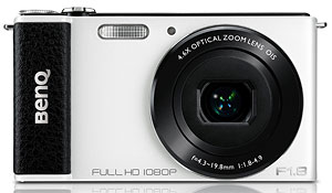 BenQ's G1 digital camera. Photo provided by BenQ. Click for a bigger picture!