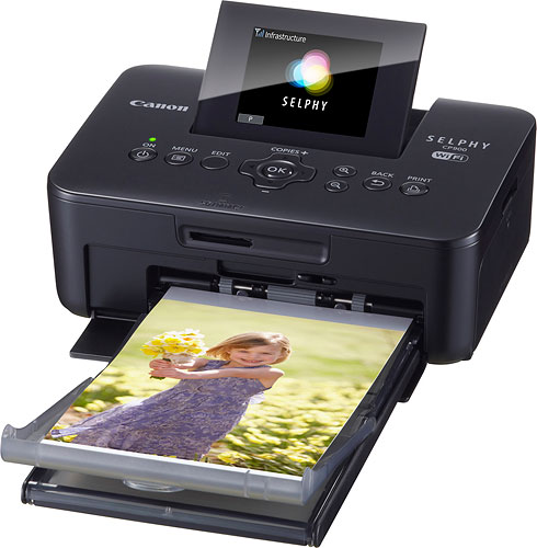 Canon's SELPHY CP900 compact photo printer features cable-free WiFi connectivity. Photo provided by Canon. Click for a bigger picture!
