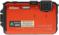 Nikon Coolpix AW100 camera. Copyright © 2012, The Imaging Resource. All rights reserved.