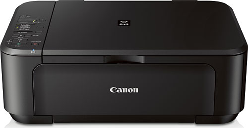Although lower-priced, the PIXMA MG3220 still retains WiFi and duplex printing. Photo provided by Canon. Click for a bigger picture!