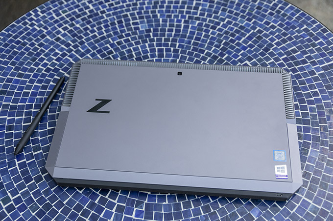 The HP ZBook x2 may be heavy and look funny, but it's got a lot of