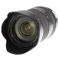 Sony SEL18200LE E 18-200mm f/2.5-6.3 EL lens. Copyright © 2012, The Imaging Resource. All rights reserved.