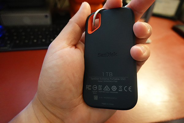 The SanDisk Extreme Portable SSD is the best-performing