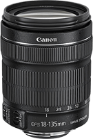 Canon's EF-S 18-135mm f/3.5-5.6 IS STM zoom lens. Photo provided by Canon.