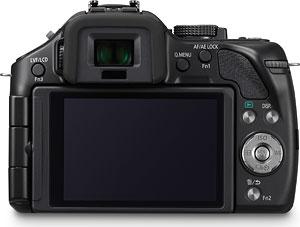 Panasonic's Lumix DMC-G5 digital camera. Photo provided by Panasonic. Click for a bigger picture!