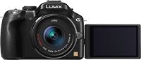 Panasonic's Lumix DMC-G5 digital camera. Photo provided by Panasonic. Click for our hands-on Panasonic G5 preview!