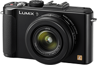 Panasonic's Lumix DMC-LX7 digital camera. Photo provided by Panasonic. Click for our Panasonic LX7 preview!