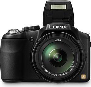 Panasonic's Lumix DMC-FZ200 digital camera. Photo provided by Panasonic. Click here for a bigger picture!