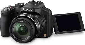 Panasonic's Lumix DMC-FZ200 digital camera. Photo provided by Panasonic. Click here for a bigger picture!