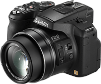 Panasonic's Lumix DMC-FZ200 digital camera. Photo provided by Panasonic. Click here for our Panasonic FZ200 preview!