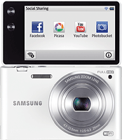 Samsung's MV900F digital camera. Photo provided by Samsung. Click for our Samsung MV900F preview!