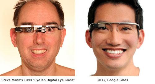 Mann eyetap digital eye glass google glass