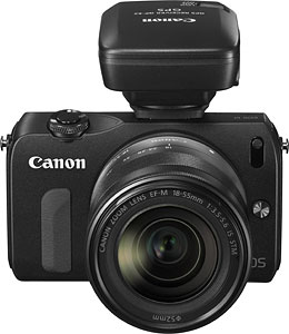 Canon's EOS M compact system camera. Photo provided by Canon. Click for a bigger picture!