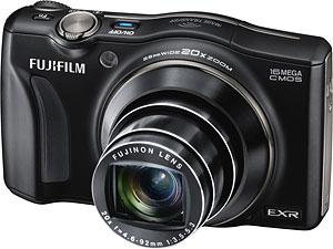 Fujifilm's FinePix F800EXR digital camera. Photo provided by Fujifilm. Click for a bigger picture!