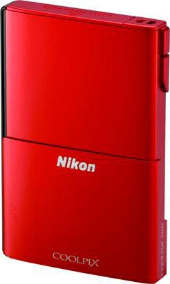 Nikon's Coolpix S100 digital camera. Photo provided by Nikon Corp.