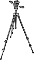 Manfrotto's 293 Carbon Fiber tripod. Photo provided by VitecGroup Italia Spa.