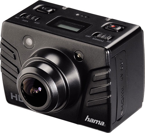 Hama's Star Action Camera. Photo provided by Hama Technics Handels GmbH. Click for a bigger picture!