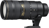 Nikon's AF-S NIKKOR 70-200mm f/2.8G ED VR II lens. Image provided by Nikon.