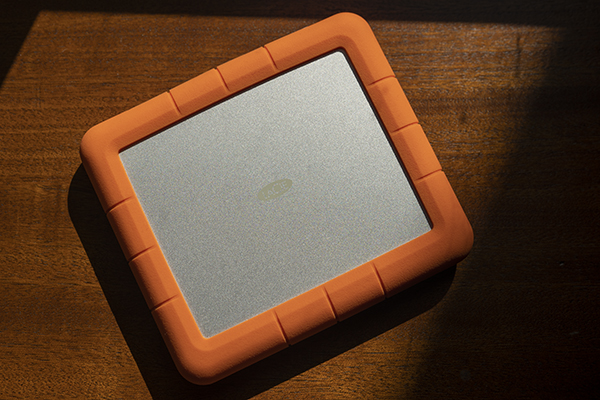 The LaCie Rugged RAID Shuttle is a comically large drive for a very specific purpose