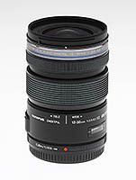 Olympus 12-50mm EZ M.Zuiko Digital ED lens. Copyright © 2012, The Imaging Resource. All rights reserved.
