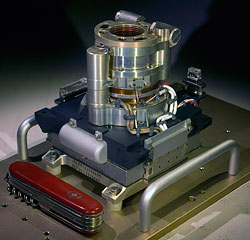 The Mars Hand Lens Imager camera. Photo provided by NASA/JPL-Caltech/Malin Space Science Systems. Click for a bigger picture!