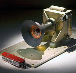 The Mars Descent Imager camera. Photo provided by NASA/JPL-Caltech/Malin Space Science Systems. Click for a bigger picture!