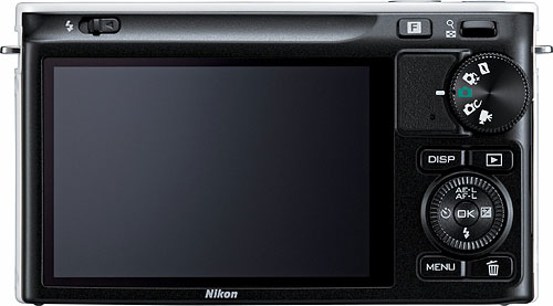 The Nikon J2 compact system camera. Image provided by Nikon. Click for a bigger picture!