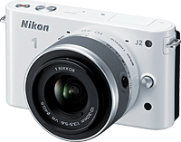 The Nikon J2 compact system camera. Image provided by Nikon. Click for our Nikon J2 preview!