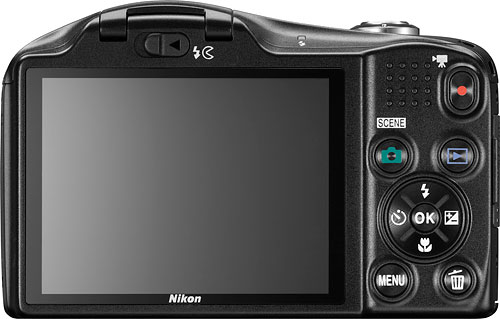 Nikon's Coolpix L610 digital camera. Photo provided by Nikon. Click for a bigger picture!